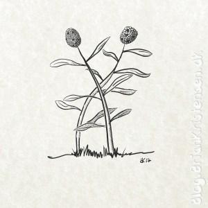 How to Draw a Funny Cartoon Flower - Sketch 191