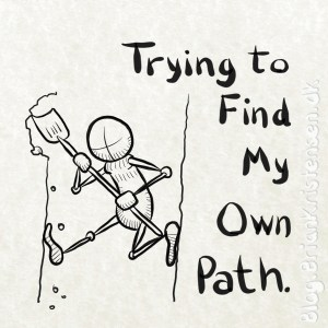 Trying to Find My Own Path - Sketch 203