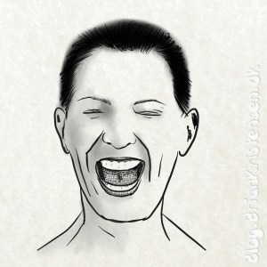 How to Draw a Laughing Girl - Sketch 205