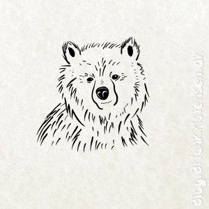 How to Draw a Bear - Sketch 260