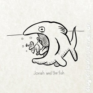 Jonah and the Fish - Sketch 291