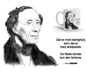 H.C. Andersen: Det Er Med Kærlighed Som Det Er Med Skildpadde. De Fleste Kender Kun Den Forlorne. - Sketch 462