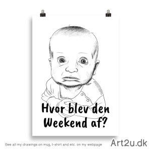 Hvor Blev Den Weekend Af? - Sketch 597