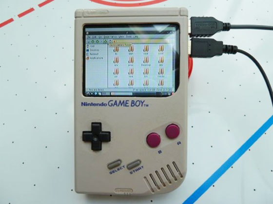 The GamePi: Case mod con Raspberry Pi y Game Boy