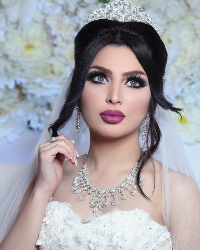 weddings around the world: arabic bridal makeup looks you