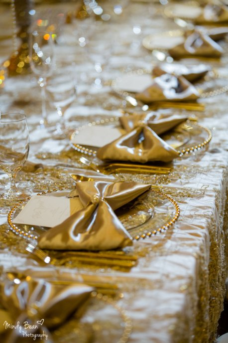 Wedding Design: Glitterati Weddings & Events | Floral: Jovani Linens | Rentals: Current Events