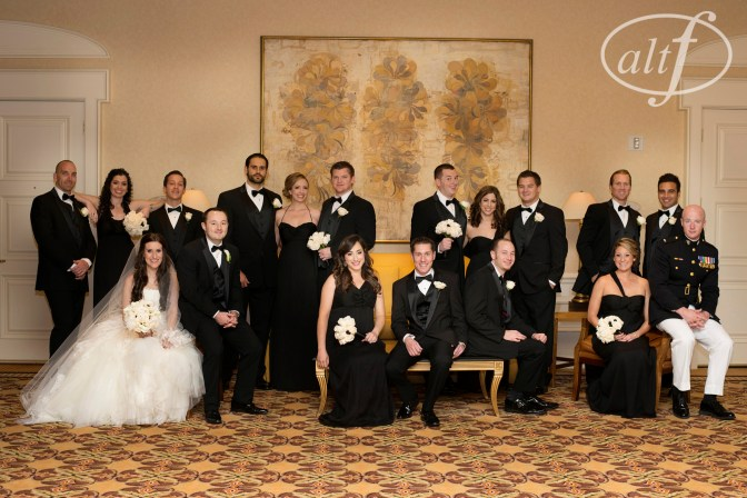 Weddng Party Portrait