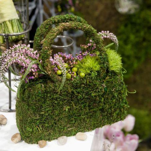 A Floral Handbag