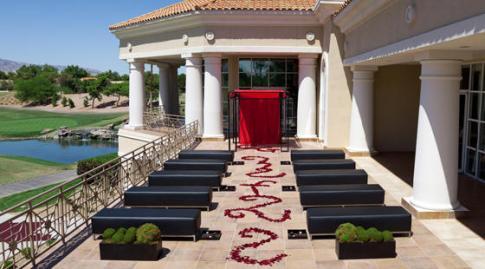 Unique Ceremony Setting