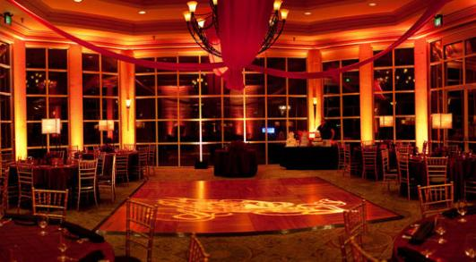 Ballroom at Canyon Gate Country Club.