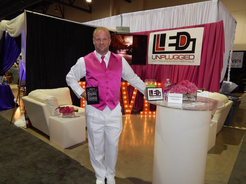 Kevin Cordova accepts Dazzle Award