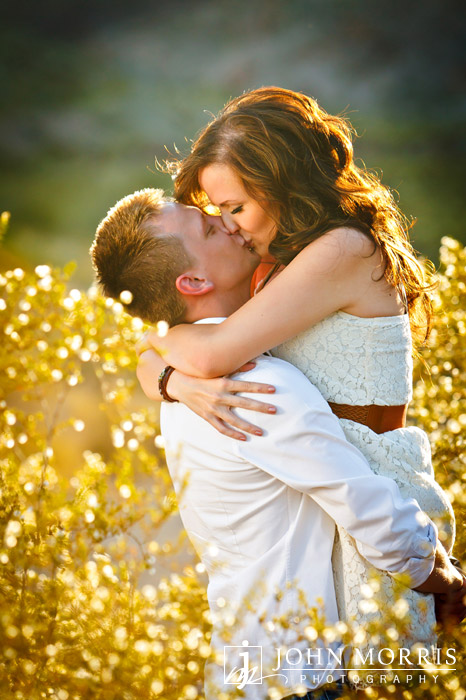 Romantic Engagement photo by John Morris