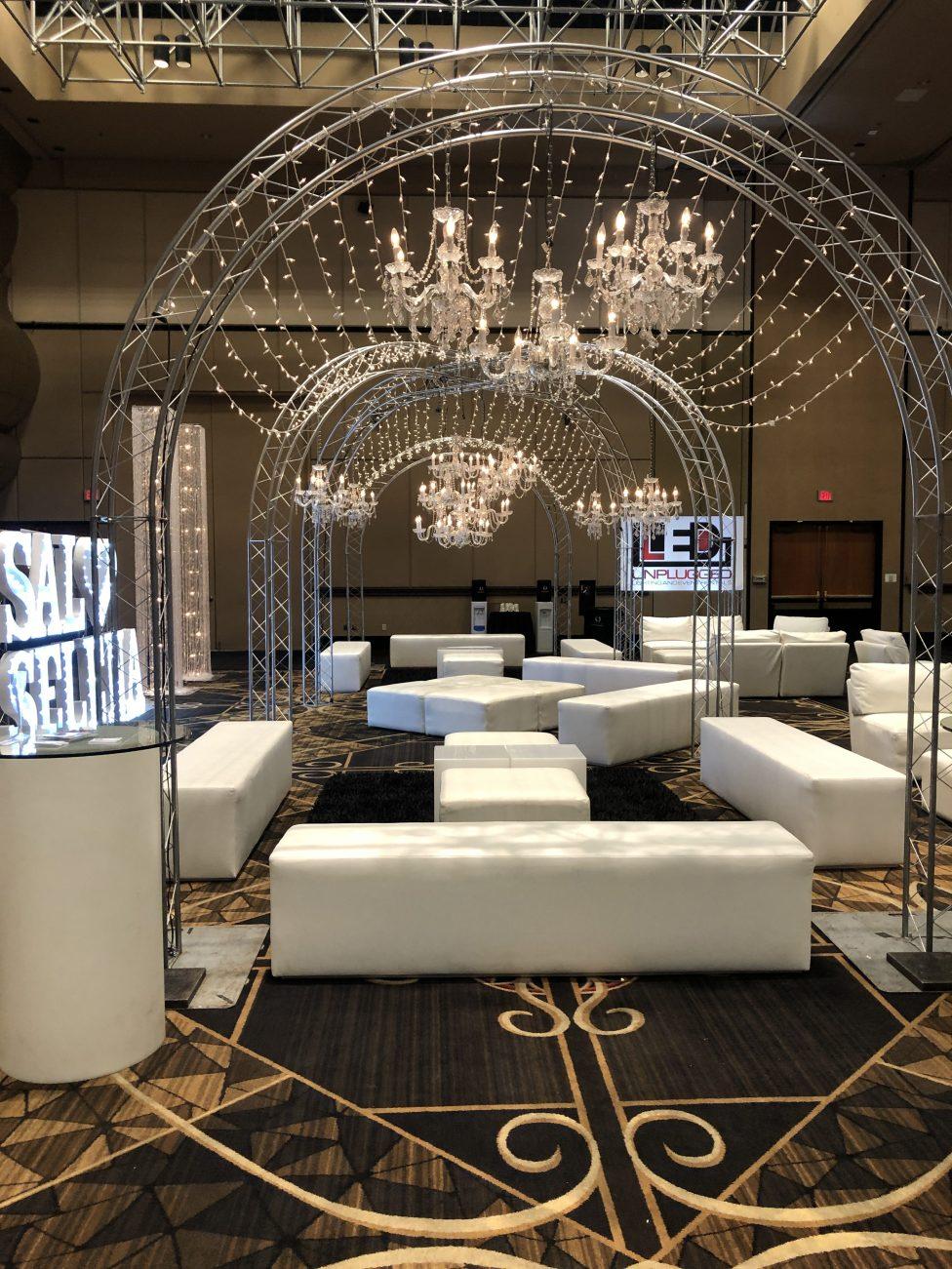 LED Unplugged Furniture Rental