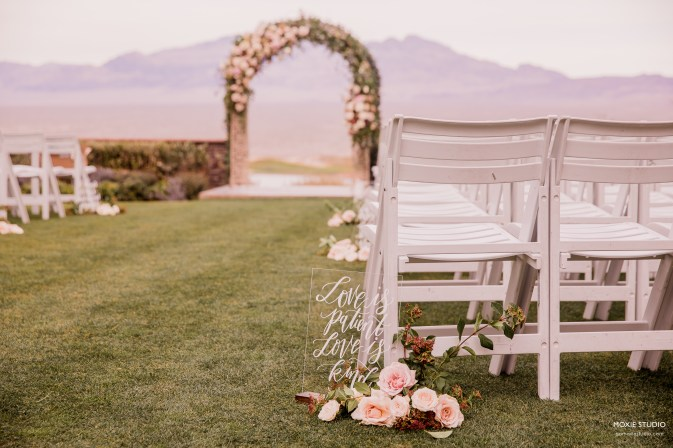 Outdoor Wedding at Paiute