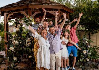 Family from Belgium celebrate with intimate Las Vegas Wedding Bridal Spectacular