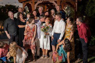 older couple marry in Las Vegas for Destination Wedding Bridal Spectacular