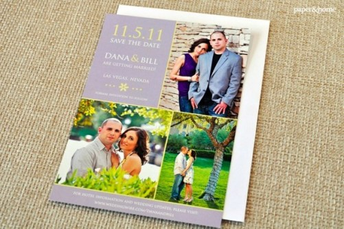 Photograph - Save the Date Card