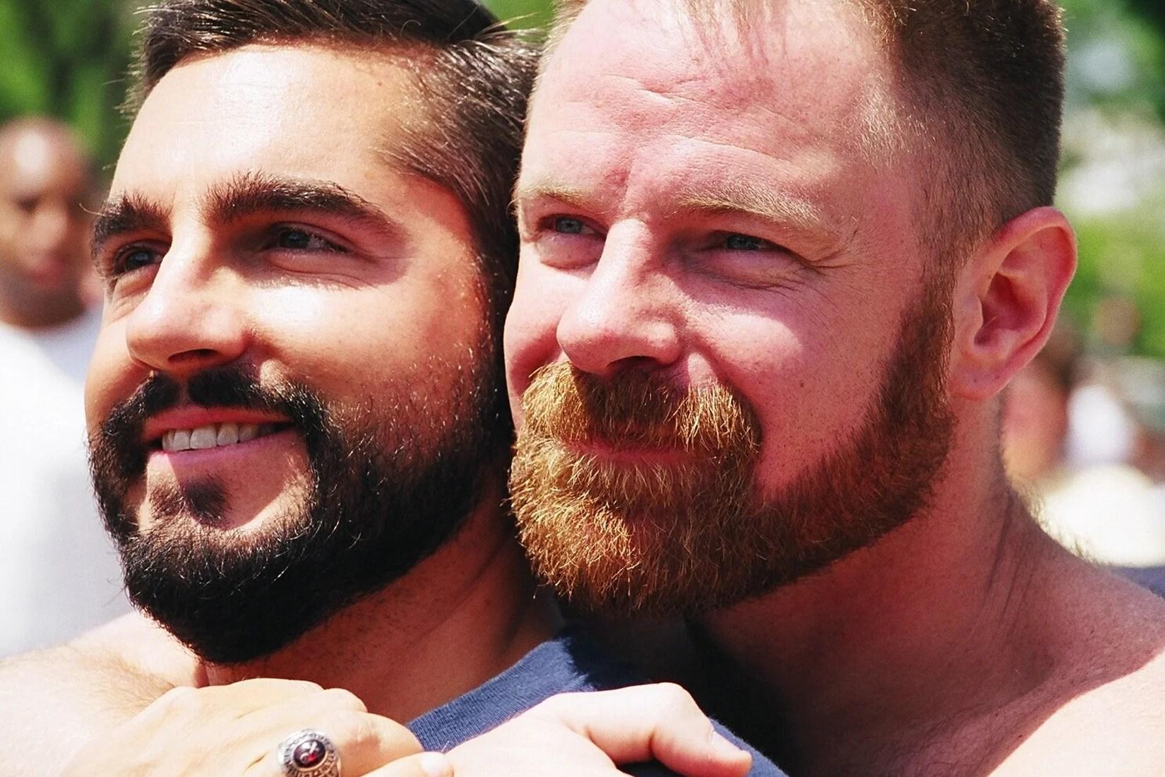 gay bear dad on son