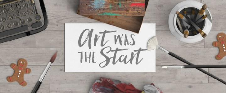 Art was was Bronner's start