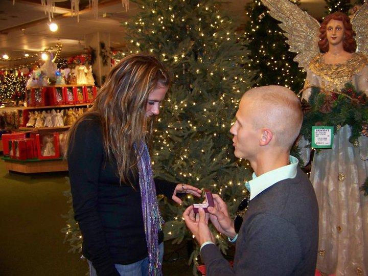John proposes to Erika Oct. 2016