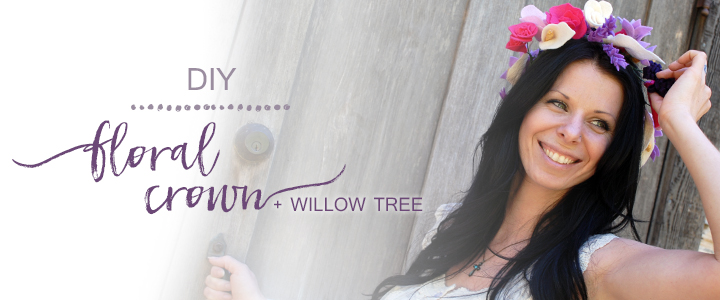 Flower Crown Fit For A Bride + Willow Tree