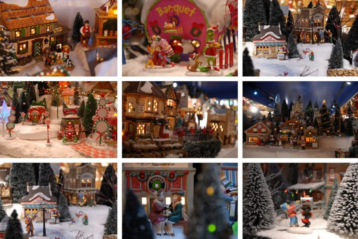 D56 Displays At Bronner's Christmas Wonderland In Frankenmuth, Michigan