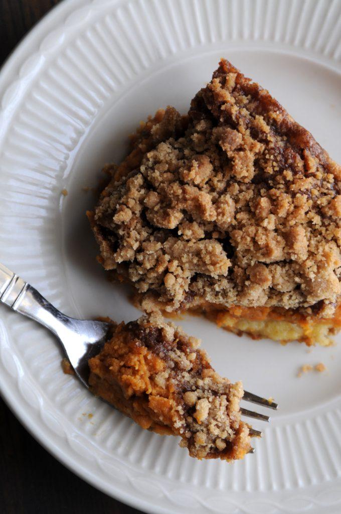 Pumpkin Square slice