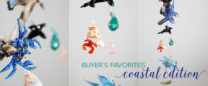 DIY Mobile with Spun Glass Christmas Ornaments