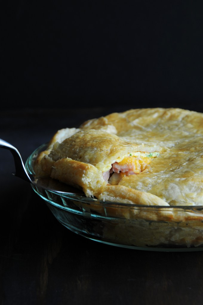 Ham Omelette Pie