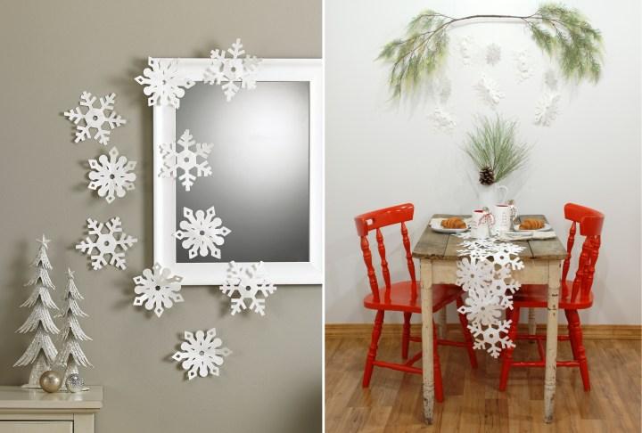 Paper Snowflake Decorations 1194279