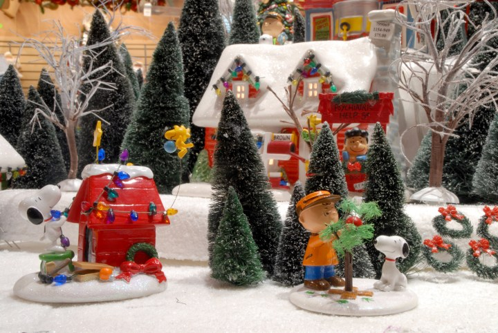 A Charlie Brown Christmas Department 56 Village Pieces
