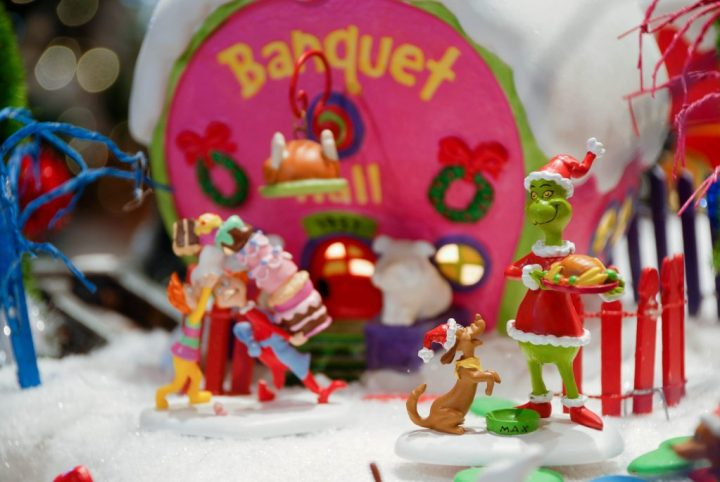 How The Grinch Stole Christmas Department 56 Village Pieces