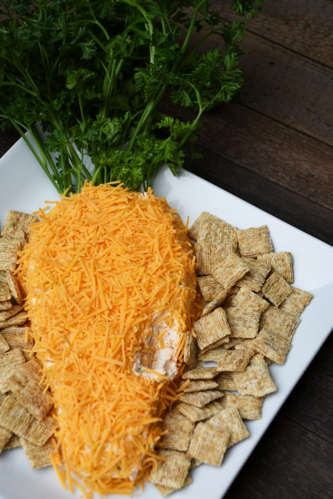 Carrot-Shaped Cheese Ball