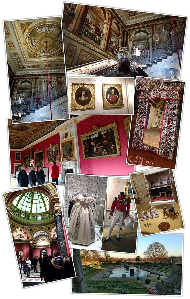 London's Kensington Palace, National Art Gallery And Sunken Garden