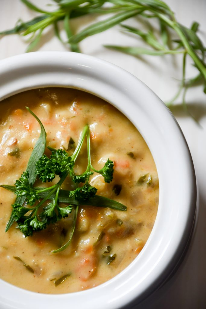 Cream Of Cauliflower Soup From Bronner's Flavorful Favorites Cookbook