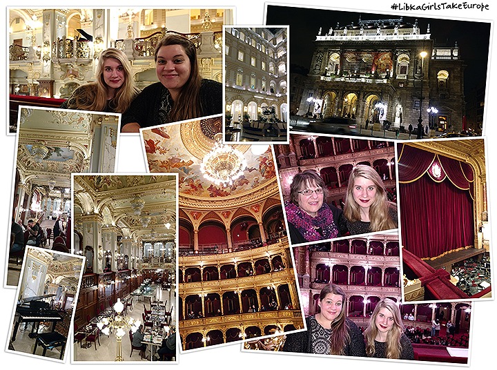 Libka Girls Take Europe At The New York Café, known as the Most Beautiful Coffee House in the World and the Hungarian National Opera House