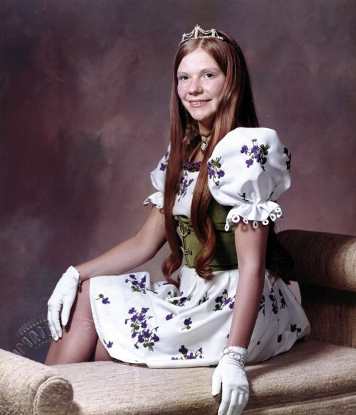 Carla Bronner Crowned Bavarian Festival Princess In 1974.