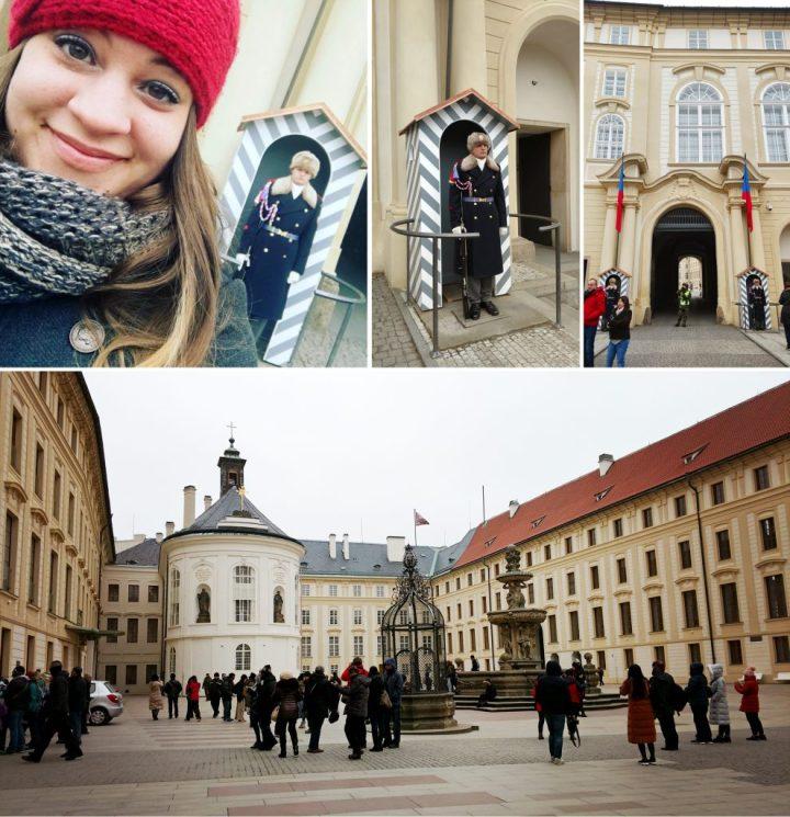 Prague Castle and Palace Guards, Czech Republic