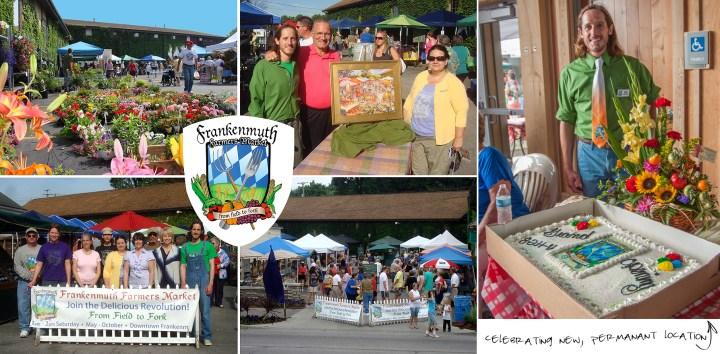 Frankenmuth Farmers Market's; Frankenmuth, Michigan.