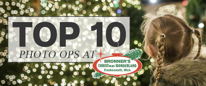 TOP 10 Photo Ops At Bronner's In Frankenmuth!
