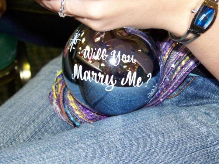 Will You Marry Me Proposal Ornament
