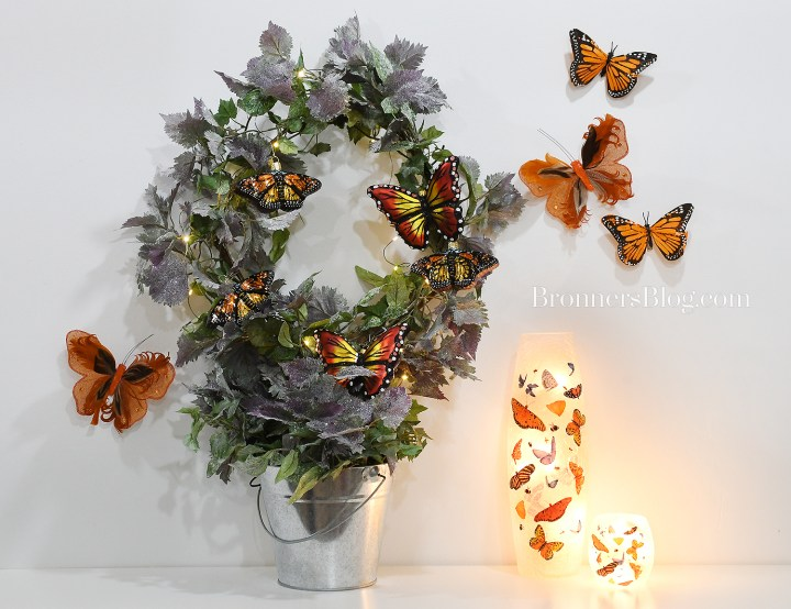 Spring Monarch Butterflies Home Decor