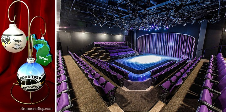 Actor Jeff Daniels' Purple Rose Theatre makes its home in this southeast-Michigan small town.