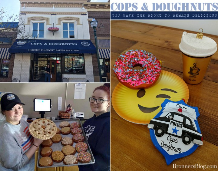 Clare, Michigan's Famous Cops & Doughnuts Bakery