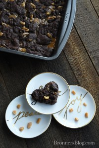 Caramel Layer Chocolate Square Dessert Recipe From Bronners