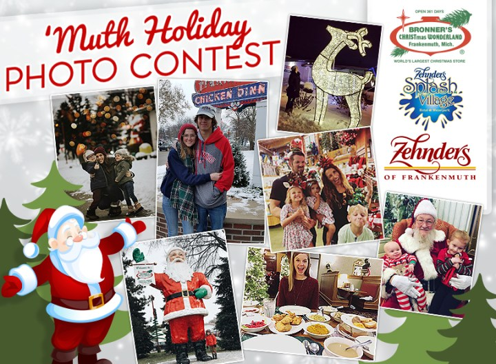 Zehnder's Restaurant and Splash Village Hotel and Bronner's Christmas Wonderland's #MuthHoliday 2018 Photo Contest!