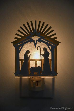 Nativity Night Light.