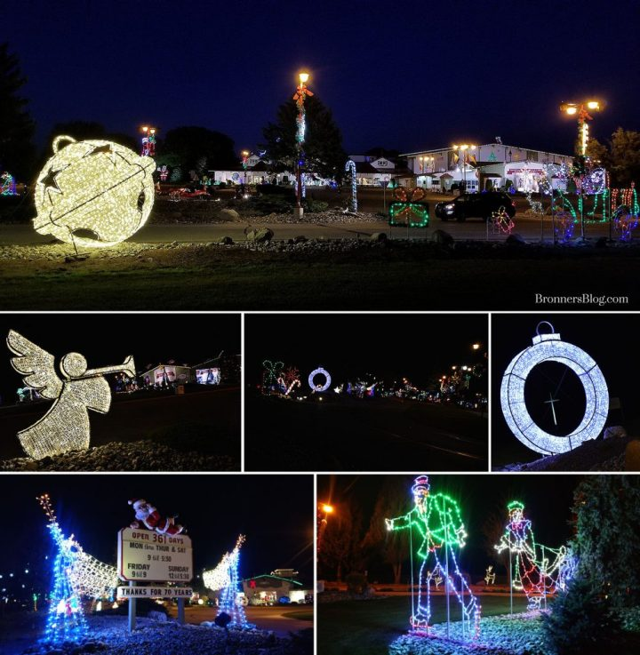 Bronner's 25 Christmas Lane is illuminated nightly with a beautiful display of LED Christmas lights and decorations!