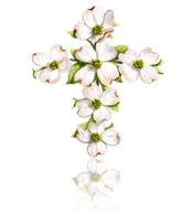 Dogwood Flower custom art from Bronner's Christmas Wonderland