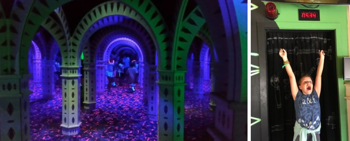 Ultimate Mirror Maze And Vault Laser Challenge in Frankenmuth, Michigan